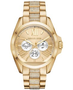 Michael Kors Michael Kors Access Bradshaw Smart Watch Pave Gold Tone