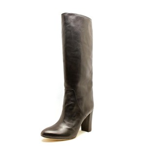 Vince Camuto Knee High Leather Women's Black Boots