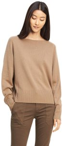 Vince Cashmere Boatneck Wheat Sweater