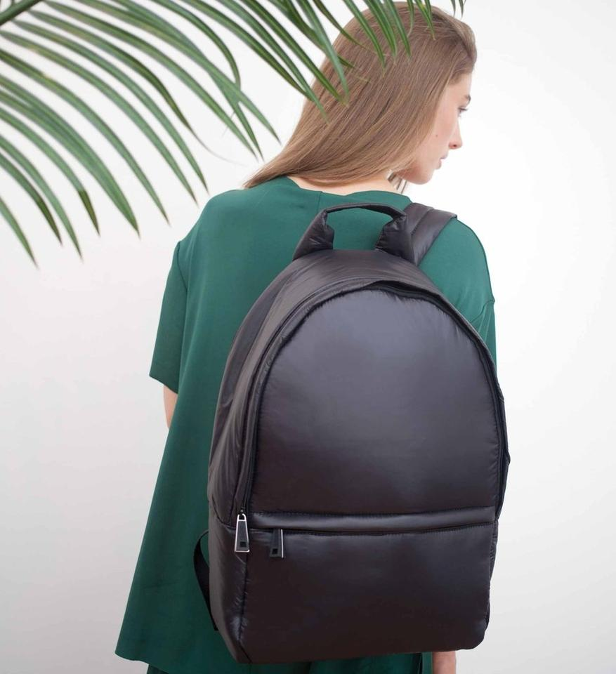 56c47a50 Cloud Stratus Black Nylon Backpack 51% off retail