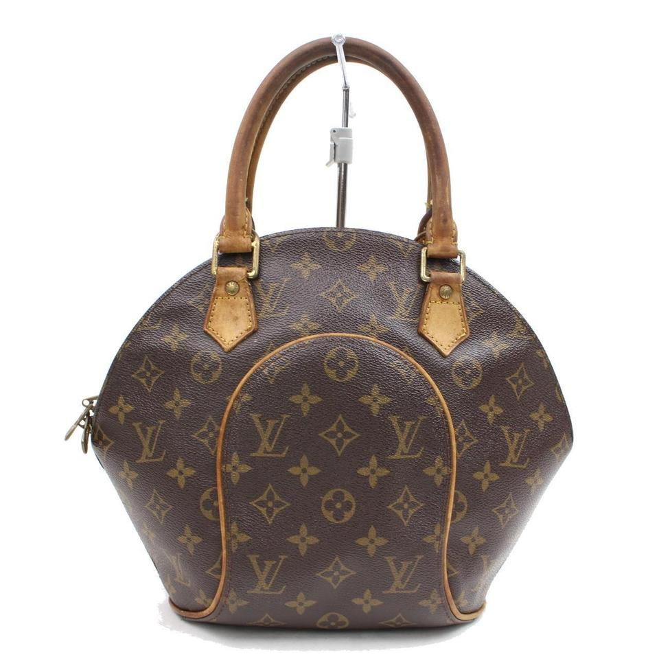597342fbc141 Louis Vuitton Octagon Hexagon Seashell Clam Bowler Satchel in Brown Image 0  ...