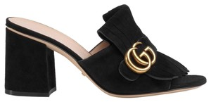 Gucci Marmont Marmont Slides Marmont Collection BLACK Mules