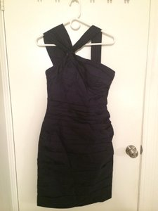 Bill Levkoff Navy Blue 82955 Dress