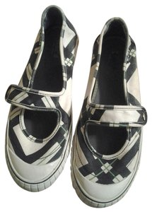 Keds Mary Jane Mary Janes Plaid blue white green Flats