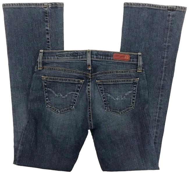 Preload https://img-static.tradesy.com/item/22459662/ag-adriano-goldschmied-blue-medium-wash-the-kiss-stretch-boot-cut-jeans-size-27-4-s-0-1-650-650.jpg