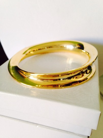 Robert Lee Morris NWOT Twisted Gold-Tone Bangle