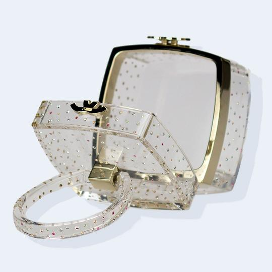 Chanel Limited Edition Clear Transparent Clutch