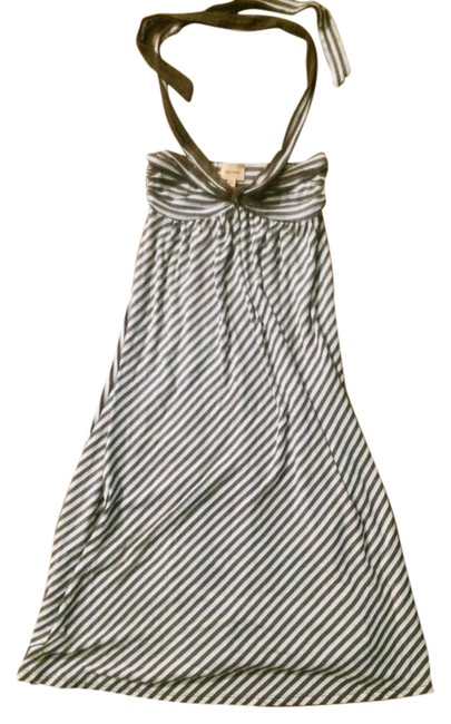 Preload https://item5.tradesy.com/images/ella-moss-blue-and-brown-stripes-short-casual-dress-size-0-xs-2245989-0-0.jpg?width=400&height=650