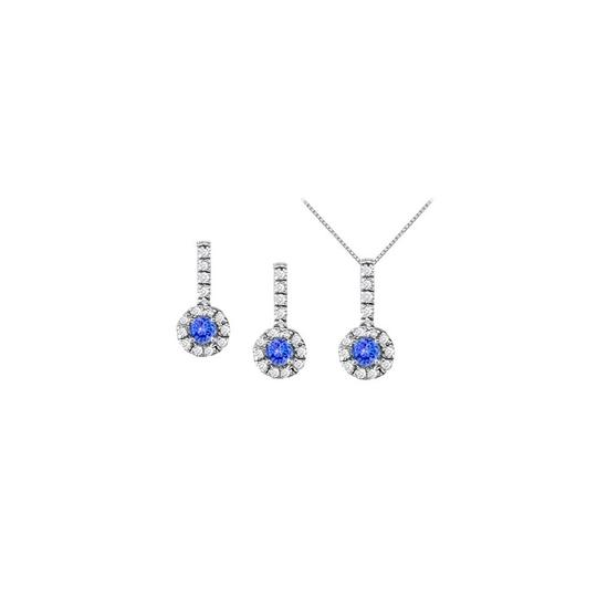 Preload https://img-static.tradesy.com/item/22459904/white-silver-blue-december-birthstone-tanzanite-with-cz-halo-earrings-and-pendant-necklace-0-0-540-540.jpg