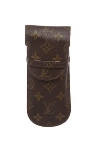 Louis Vuitton Louis Vuitton Monogram Canvas Leather Pen Holder Case