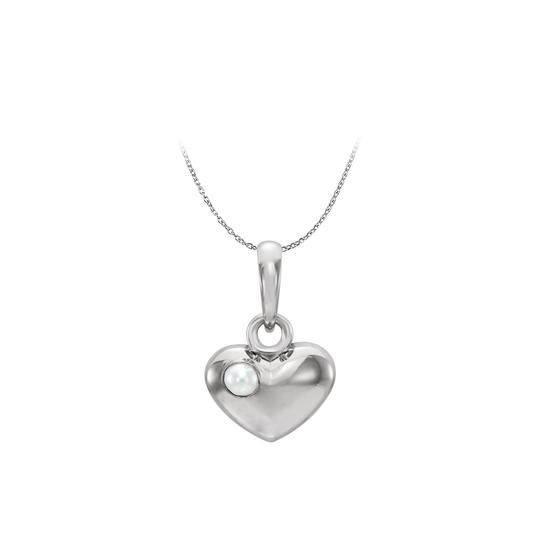 Preload https://img-static.tradesy.com/item/22459946/white-silver-freshwater-cultured-pearl-puffed-heart-pendant-necklace-0-0-540-540.jpg