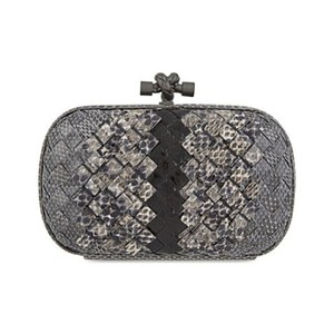 Bottega Veneta New light grey ardoise Clutch