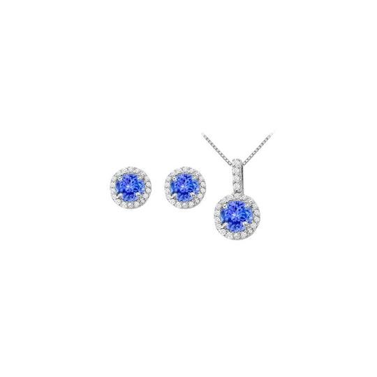 Preload https://img-static.tradesy.com/item/22460207/white-silver-blue-december-birthstone-tanzanite-with-cz-halo-earrings-and-pendant-necklace-0-0-540-540.jpg