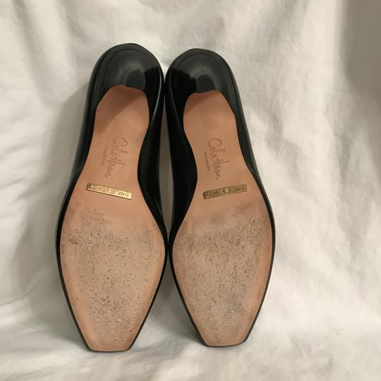 Cole Haan Platform Leather Comfortable Night Out Holiday Black Pumps
