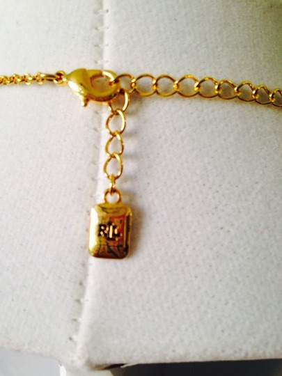 Ralph Lauren Lauren NWOT Gold-Tone Monkey Fist Illusion Necklace Only! Matching Earrings Sold Seperately.