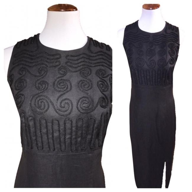 Preload https://img-static.tradesy.com/item/22460495/maggy-london-black-embroidered-maxi-long-cocktail-dress-size-14-l-0-0-650-650.jpg