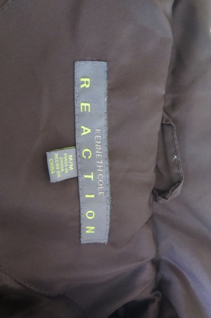 Kenneth Cole Reaction Lightweight Polyester Brown Jacket