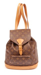 Louis Vuitton Canvas Weekend Travel Bags Backpack