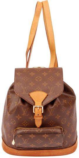 Preload https://img-static.tradesy.com/item/22460719/louis-vuitton-montsouris-5358-brown-canvas-backpack-0-3-540-540.jpg