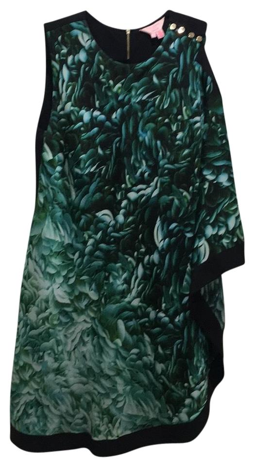 Size Ted Green Black Baker And 83 Retail xs 2 Cocktail Mid-length Rn95229 Off Dress