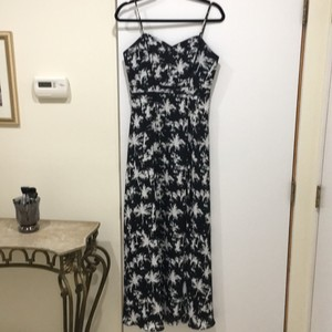 black and white Maxi Dress by Guess