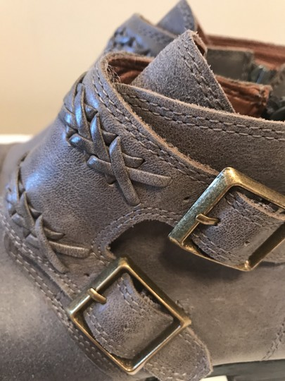Lucky Brand Ash Grey Boots