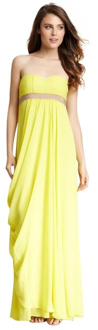 Preload https://img-static.tradesy.com/item/22460882/bcbgmaxazria-yellow-long-formal-dress-size-2-xs-0-2-650-650.jpg