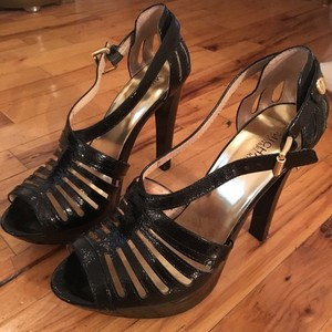 Michael Kors black Platforms