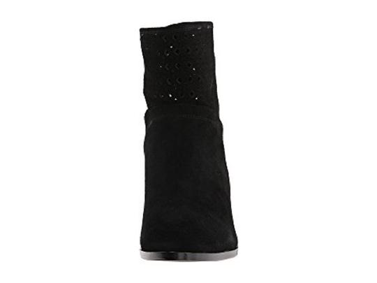 Michael Kors Suede Leather Ankle Black Boots