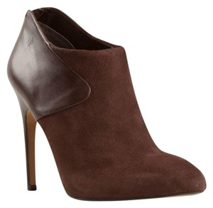 Sam Edelman Suede Leather Ankle Stiletto Brown Boots