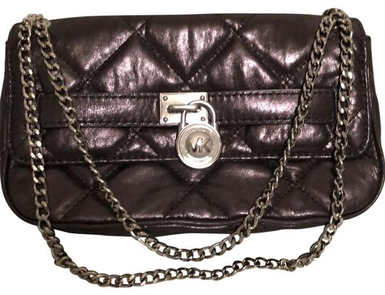 Preload https://img-static.tradesy.com/item/22461126/michael-michael-kors-hamilton-quilt-gunmetal-genuine-leather-shoulder-bag-0-1-540-540.jpg