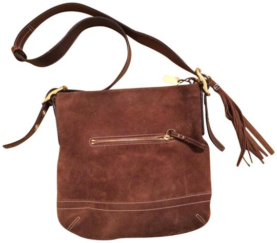 Preload https://img-static.tradesy.com/item/22461347/coach-with-dark-brown-suede-and-leather-shoulder-bag-0-1-540-540.jpg