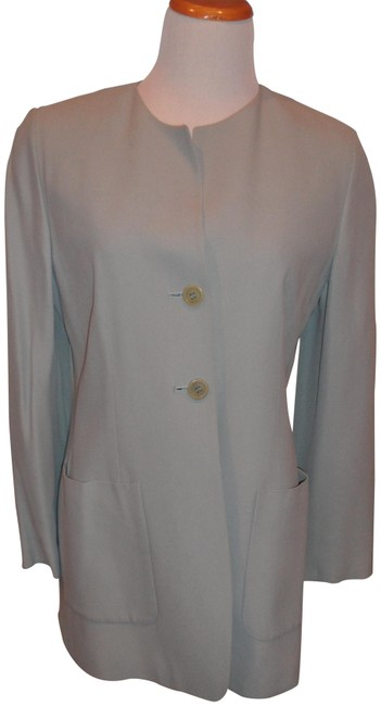Preload https://img-static.tradesy.com/item/22461381/dkny-pale-blue-elegant-2pc-straight-and-perfect-cut-blazer-pant-suit-size-6-s-0-1-650-650.jpg