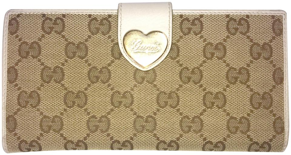 0afc9193f26 Gucci Gucci Monogram Heart Long Wallet Image 0 ...