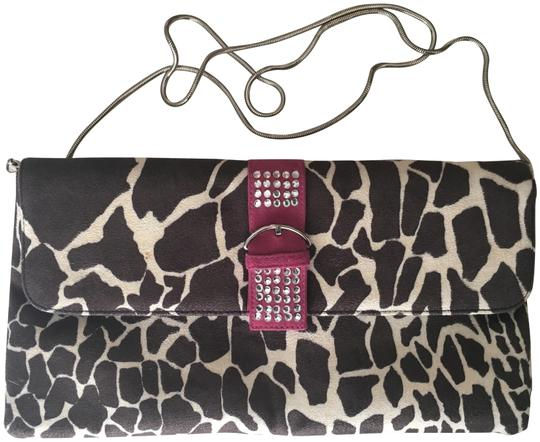 Preload https://img-static.tradesy.com/item/22461515/costa-blanca-rhinestoned-buckled-latch-brown-pink-and-off-white-with-black-leather-interior-animal-p-0-1-540-540.jpg
