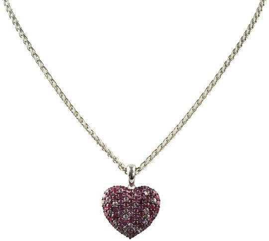 Preload https://img-static.tradesy.com/item/22461591/effy-pink-925-and-white-sapphire-and-sterling-silver-heart-pendant-necklace-0-3-540-540.jpg