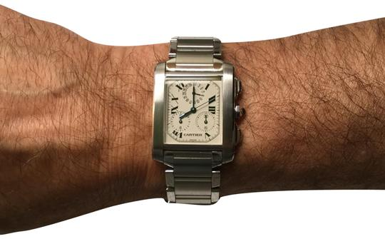 Preload https://img-static.tradesy.com/item/22461635/cartier-stainless-steel-tank-francaise-watch-0-1-540-540.jpg