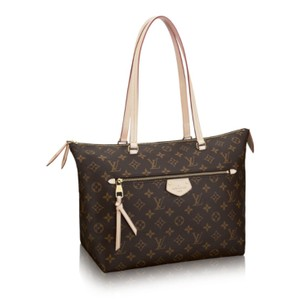 Louis Vuitton Monogram Iena Tote in Brown