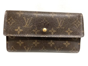 Louis Vuitton LOUIS VUITTON MONOGRAM INTERNATIONAL WALLET PURSE