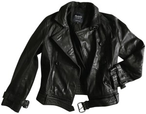 Madewell New With Tags black Leather Jacket