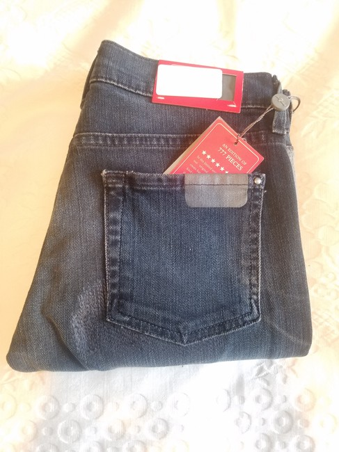 7 For All Mankind Distressed Denim Skinny Jeans-Distressed