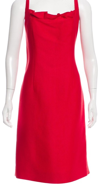 Preload https://img-static.tradesy.com/item/22461982/valentino-red-wool-silk-party-mid-length-formal-dress-size-12-l-0-1-650-650.jpg