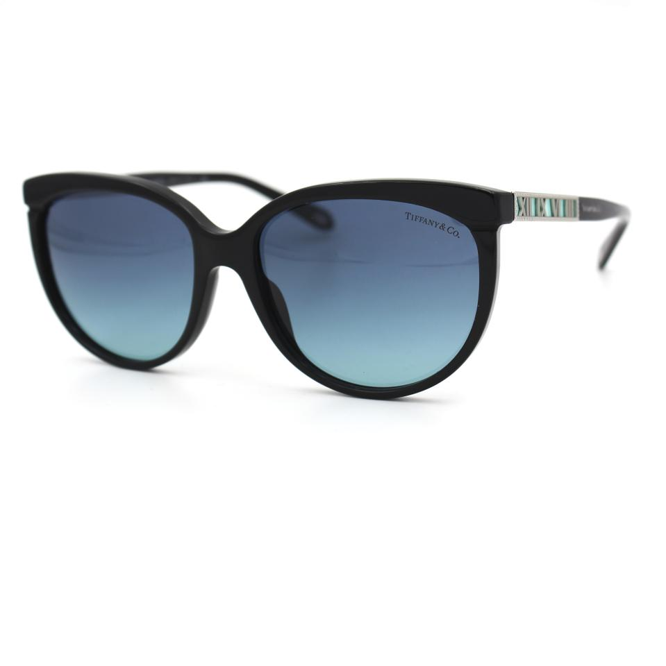2442f823e1cf Tiffany   Co. Black and Blue Atlas Butterfly 4097 Sunglasses - Tradesy
