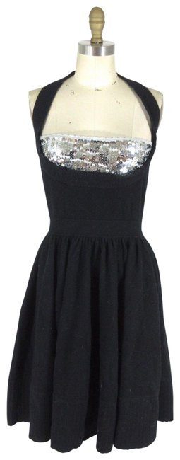 Preload https://img-static.tradesy.com/item/22462148/marc-by-marc-jacobs-black-wool-holiday-sequin-mid-length-cocktail-dress-size-8-m-0-1-650-650.jpg