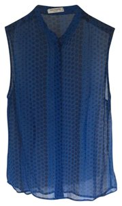52b4a29c608ce Blue Equipment Tops - Up to 70% off a Tradesy