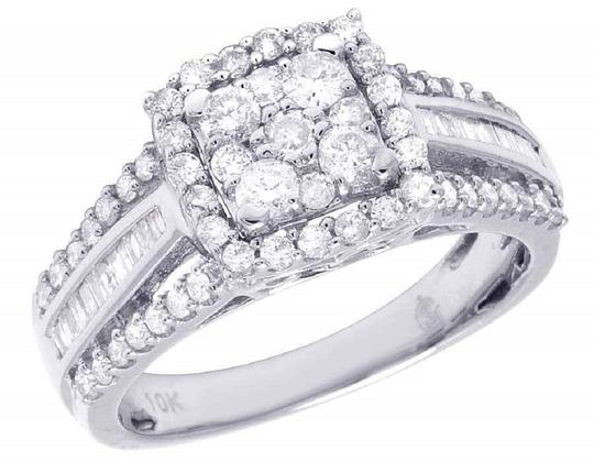 Preload https://img-static.tradesy.com/item/22462221/jewelry-unlimited-white-gold-ladies-10k-round-baguette-diamond-engagement-10-ct-ring-0-0-540-540.jpg
