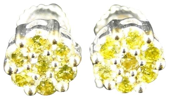 Preload https://img-static.tradesy.com/item/22462242/jewelry-unlimited-yellow-canary-10k-white-gold-7mm-menswomens-diamond-stud-67-ct-earrings-0-1-540-540.jpg