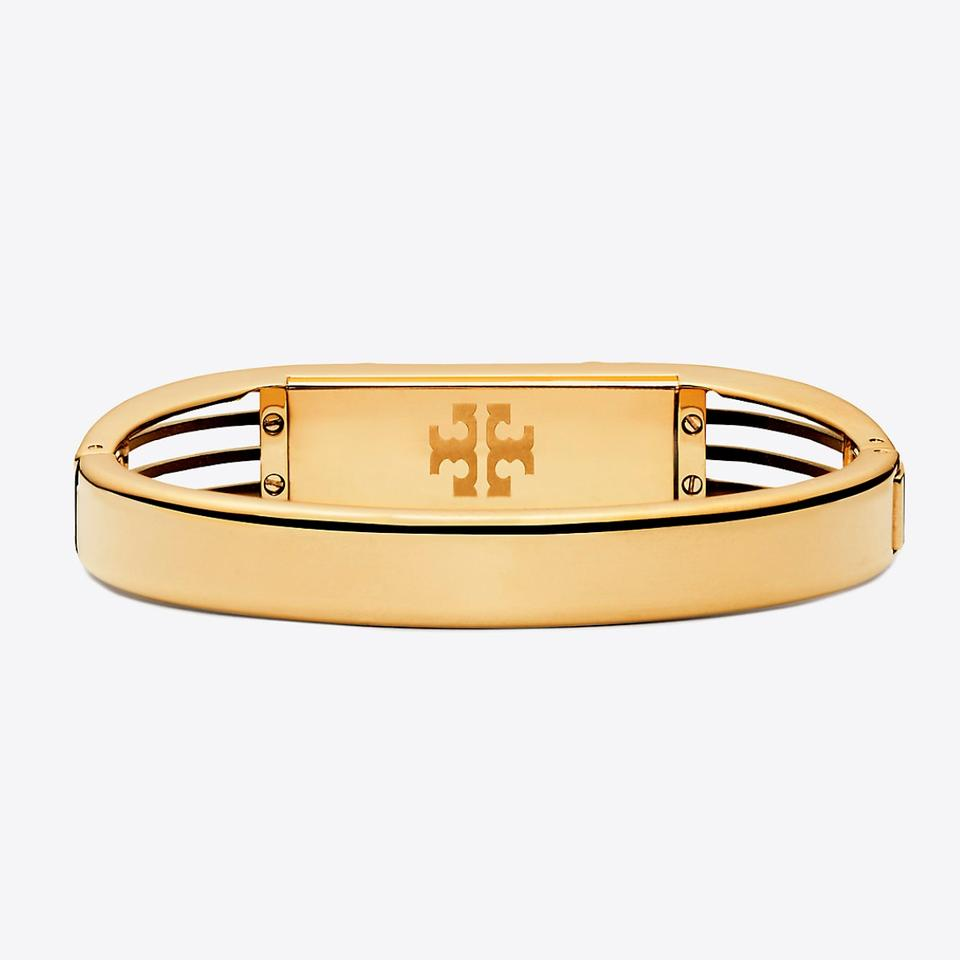 04ae692fbbee Tory Burch Tory Burch Fitbit Flex 2 Gold Bracelet Bangle Image 5. 123456