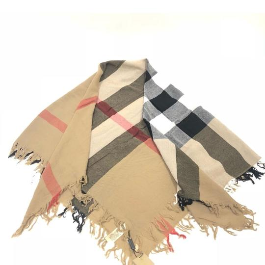 Burberry Burberry Large Check Wool Square Scarf House check