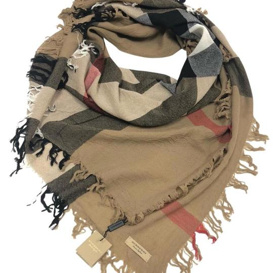 Preload https://img-static.tradesy.com/item/22462424/burberry-house-check-large-wool-square-scarfwrap-0-1-540-540.jpg